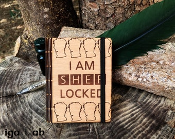 Sherlock Wood Notebook