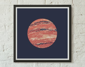 Jupiter - Fine Art Digital Giclee Print