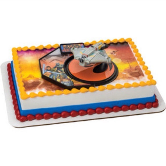 Star Wars Rebels Cake Images : Starwars cake topper 1 package