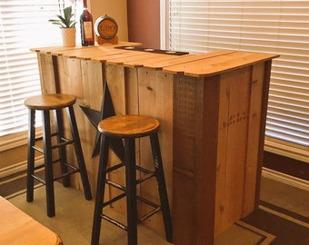 Rustic Cedar Bar