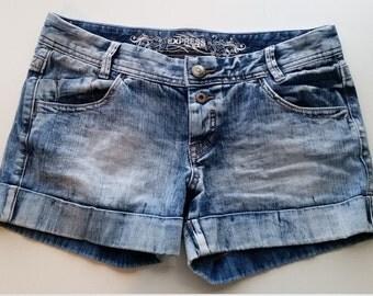 Acid Washed Express Jeans