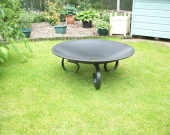 Large Fire Pit 710mm x 8mm Steel