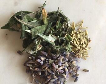 Third eye chakra herbal tea blend