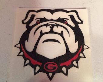 Georgia Bulldog Vinyl Decal