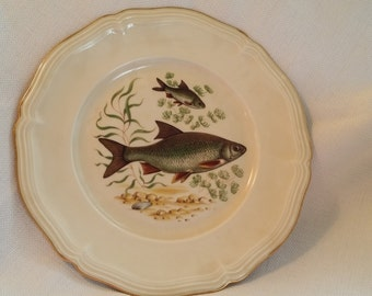 Rosenthal Antique Fish Dinner Plate