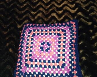 Crochet Cushion Pillow