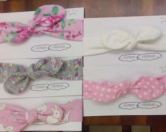Baby headbands - flannelette, toddler headband