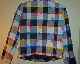 Polka Dot Colourful Women Jacket!