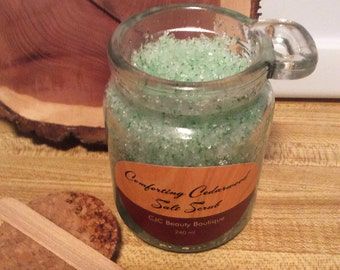 Comforting Cedarwood Salt Scrub