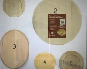 Wood plaque options