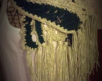 St. Patrick's Day Ruffle neck scarf