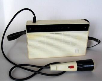 """Rare Vintage USSR Soviet Portable Voice Amplifier Megaphon """"Vitia"""""""