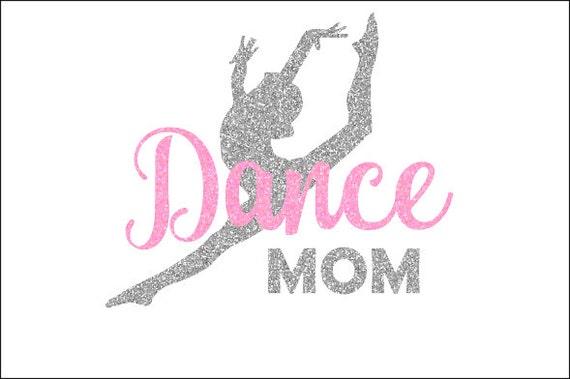 Dance Mom Glitter Decal Dance Mom Car Decal Dance Mom Yeti