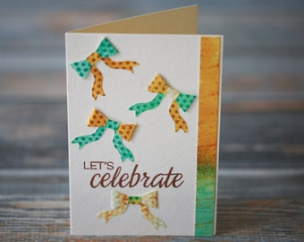 Bows Celebration Card