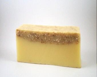 Banana and Coconut Soap - Handmade Natural Soap - Tropical Soap Fruit Soap Exfoliating Soap