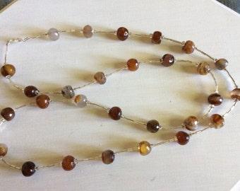 Edwardian Style Look alike bead necklace