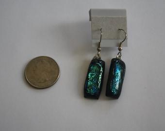 Earrings 3 - Blue/Green Glass Earrings
