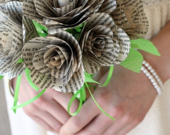 Pride and Prejudice Wedding Bouquet
