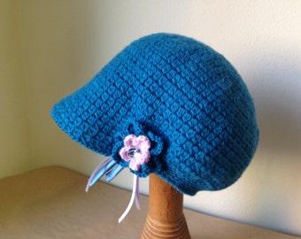 Handmade merino wool baby Hat