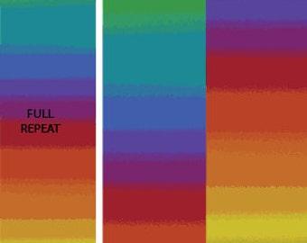 Essential Gradations by Caryl Bryer Fallert for Benartex -  Rainbow Rainbow 11