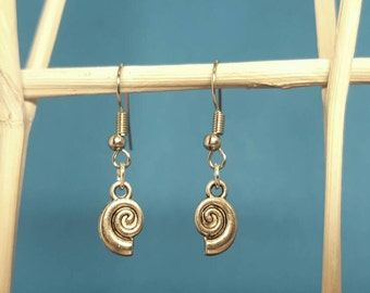 Shell earrings earrings with shells in silver