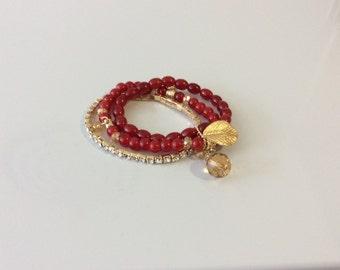 Red Gem Bracelet