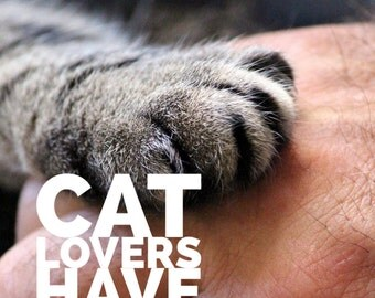 Cat lovers quote