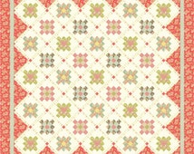 Strawberries 'n Cream PDF Quilt Pattern by Mountain Rose Designs