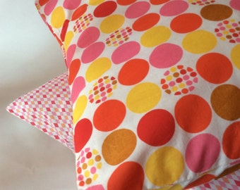 Peas multico Cushion cover pink