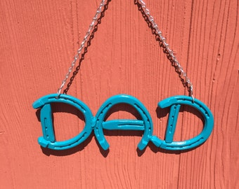 Horseshoe DAD Sign