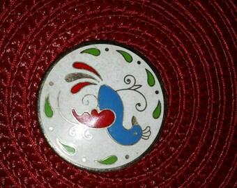 Vintage art pin
