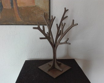 Jewelry storage, Wooden jewelry tree stand 3D, Jewelry organizer, Jewelry display, Wooden jewelry holder