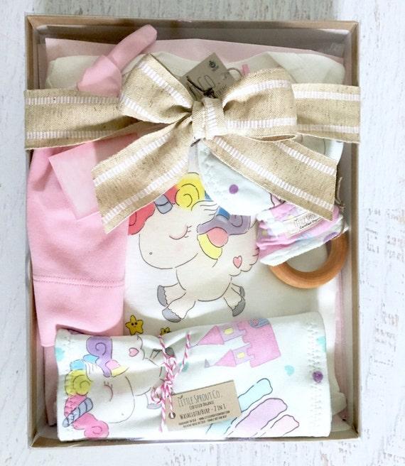 Baby Gift Organic : Baby girl gift set organic clothes