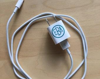 Electronic Charger Monogram