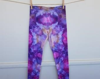 Size 9, 10 and 12 Girls Tie Dye Leggings