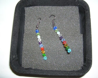 Mutlicolor Crystal Earrings