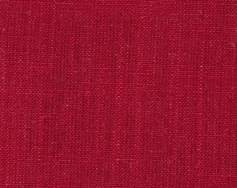 "96"" Rod Pocket Curtain Panels, Gent Pomegranate Red, Lined"