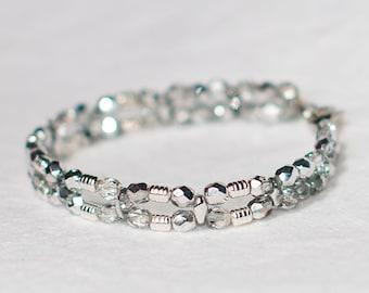 Sweet Silver Chamring Bracelet