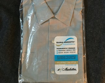 Vintage Mens Dress Shirt