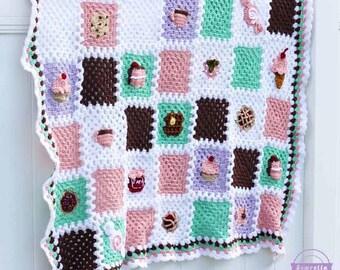 Crochet Pattern Maker Mac : Joining squares Etsy