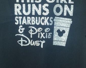 Starbucks and Pixie Dust shirt