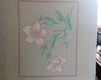 Panel 141. Blooming flower with FREE SHIPPING