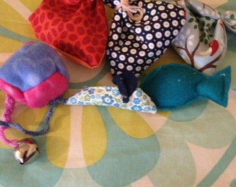Made to order verious cat nip toys and bags