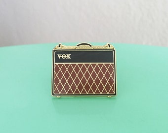 Guitar Amp Enamel Pin
