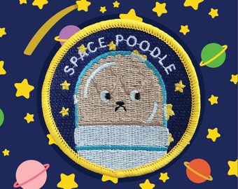 Space Poodle patch