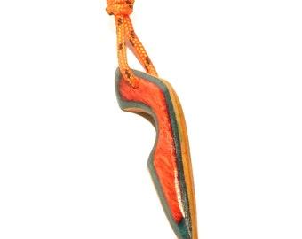 Skate key chain & rope