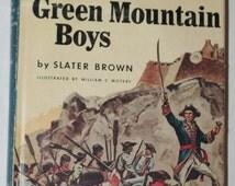 Landmark Book - Ethan Allen and the Green Mountain Boys 1956