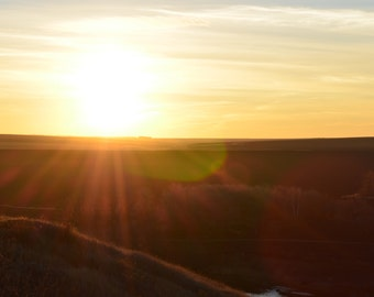 Photo sunset (set of 5 pieces)