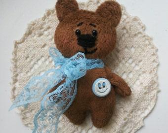 Brooch handmade Teddy Bear