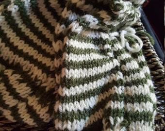 handknitted socks size 8-10